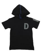DKNY Jeans - Logo Hooded Tee (8-20)