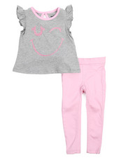 Girls - Wink Pant Set (2T-4T)