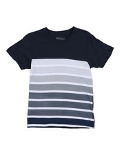 Boys - Crew Neck Stripe Tee (8-20)-2211851