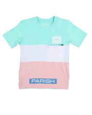 Parish - Classic Color Block Tee (8-20)-2213197