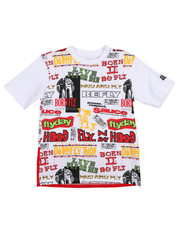 Boys - Classics All Over Print Tee (8-20)-2213742