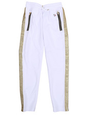 Southpole - Track Pants w/ Lurex Side Panel(8-20)-2212599