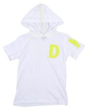 DKNY Jeans - Logo Hooded Tee  (8-20)-2214913