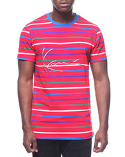 T-Shirts - ICON SINATURE W PRIMARY STRIPES