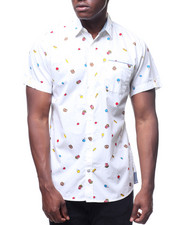 Button-downs - CARNIVAL FOODIE S/S BUTTONDOWN SHIRT