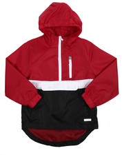 Light Jackets - Pullover Anorak Rainshell (8-20)