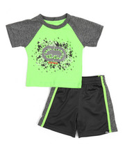 Ecko - 2 Piece Houndstooth Short Set (Infant)-2215098