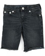 True Religion - TR Stretch Denim Shorts (4-7)-2215759
