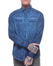 Shirts - OVER DYED BUTTONDOWN SHIRT
