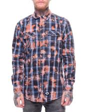 Shirts - BLEACHED PLAID BUTTONDOWN SHIRT