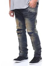 Big & Tall - Moto Denim Jean (B&T)