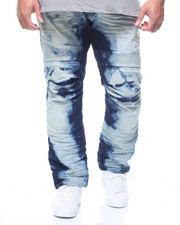 SMOKE RISE - Moto Denim Jean (B&T)-2216641