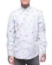 Buyers Picks - SUNGLASSES Stripe Buttondown Shirt