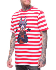 T-Shirts - Doberman Stripe T-Shirt