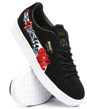 Footwear - Suede Hyper Embossed Sneakers-2216429