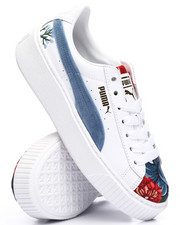 platform hyper embossed sneakers