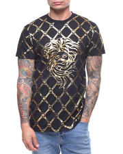T-Shirts - ALL OVER MEDUSA FOIL TEE