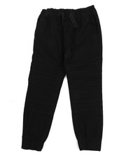 Boys - Stretch Wash Twill Moto Jogger Pants (4-7)