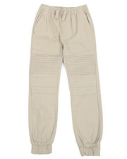 Boys - Stretch Wash Twill Moto Jogger Pants (8-20)