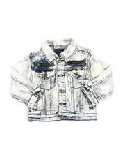 Outerwear - Multi Stud Jean Jacket (2T-4T)-2216928