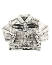 Outerwear - Multi Stud Jean Jacket (2T-4T)-2216925