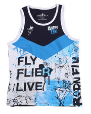 Born Fly - Live Fly Printed Tank (8-20)-2215607
