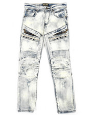 Jeans - Bike Fit Multi Stud Jeans (8-20)-2216907