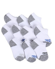 Accessories - Pro Player 10 PK Boys Terry No Show Socks Size (5-6.5)-2214671