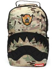 Sprayground - Multi Camo Rubber Black Shark Backpack-2216156