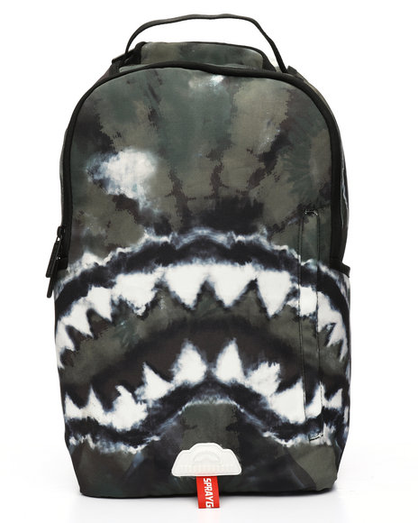 Sprayground - Camo Tie Dye Shark Backpack