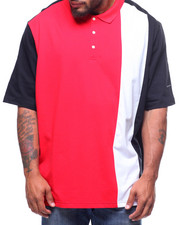 Sean John - Sean John Vertical Strip Polo (B&T)-2217829