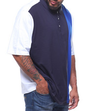 Sean John - Sean John Vertical Strip Polo (B&T)-2217820