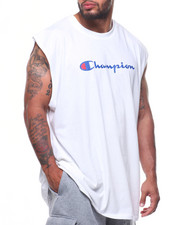 Champion - Basic Muscle Script Logo Tank Top (B&T)-2216301