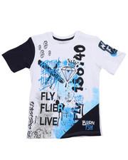 Boys - Live Fly Printed Tee (8-20)