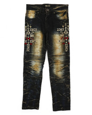 Jeans - Bike Fit Embroidery And Stud Jeans (8-20)-2217287