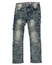Jeans - New Sahara Blue Moto Jeans (8-20)-2215792