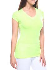 Tees - S/S V Neck T-shirt-2215864