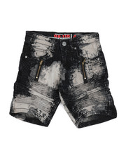 Arcade Styles - Denim Shorts w/Stretch (4-7)-2215668