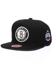 Mitchell & Ness - Brooklyn Nets Silicone Grass Snapback Hat-2218026