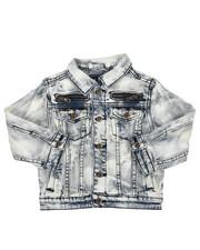Outerwear - Multi Stud Jean Jacket (4-7)-2217224