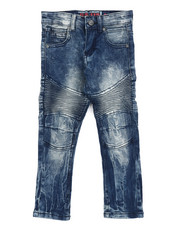Bottoms - Stretch Moto Jeans (4-7)