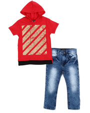 Sizes 2T-4T - Toddler - Hoodie And Pant Set (2T-4T)