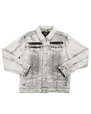 Outerwear - Multi Stud Jean Jacket (8-20)-2217254