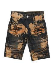 Bottoms - Stretch Denim Shorts (4-7)