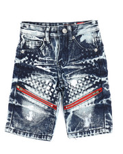 Bottoms - Denim Shorts (4-7)