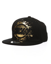 Hats - Painted Chicago Snapback Hat-2218021