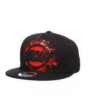 Hats - Painted Chicago Snapback Hat-2218023