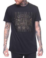 Shirts - ATLANTA EMBOSSED AND BEADED TEE-2218334