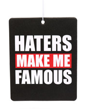 Misc. - Haters Make Me Famous Air Freshener-2216186