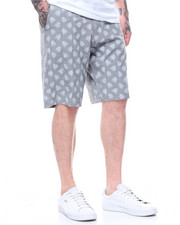 Trunks - Stretchy Chambray Shorts-2218345